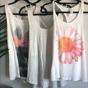 Zara , Naked Zebra , Nella Fantasia tank tops